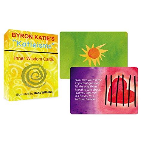 Byron Katie's 'Katieisms' Cards: 64 Colour Cards Box Set