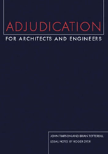 Adjudication for Architects and Engineers