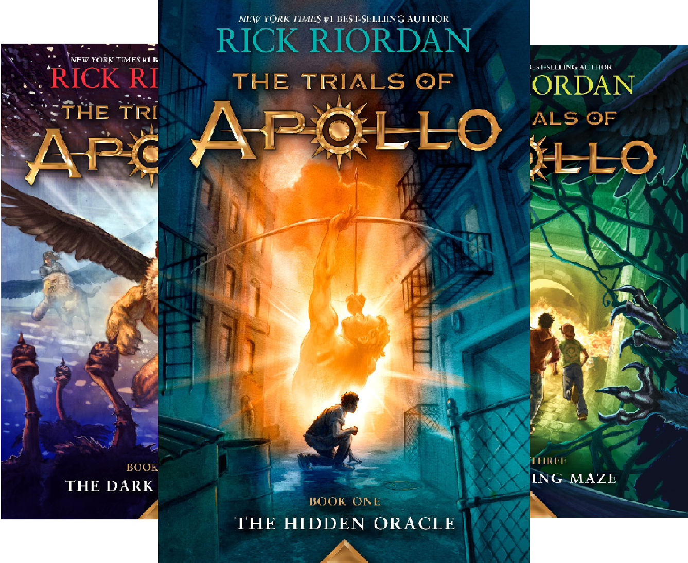 Trials of Apollo (4 Book Series)
