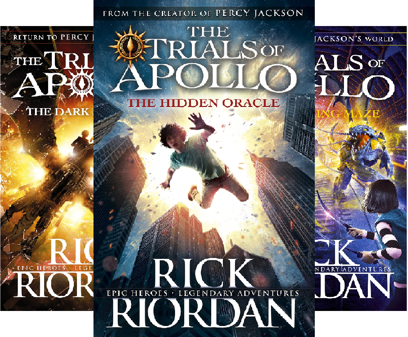 The Trials of Apollo (4 Book Series)