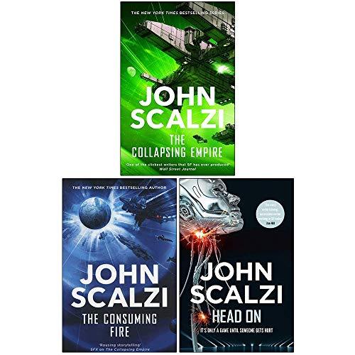 John Scalzi Collection 3 Books Set