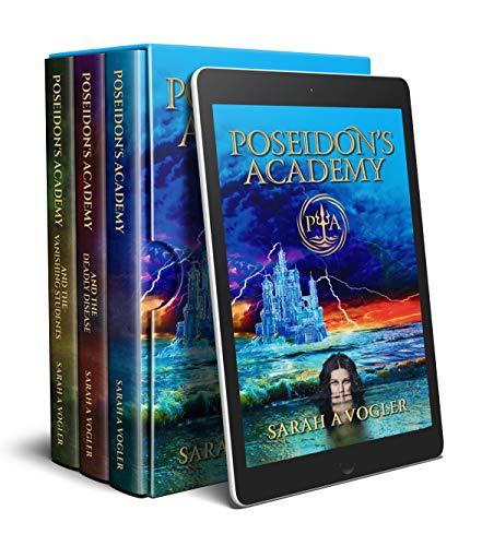 Poseidon's Academy (Books 1 - 3) Book Bundle: Boarding School Fantasy Adventure Series