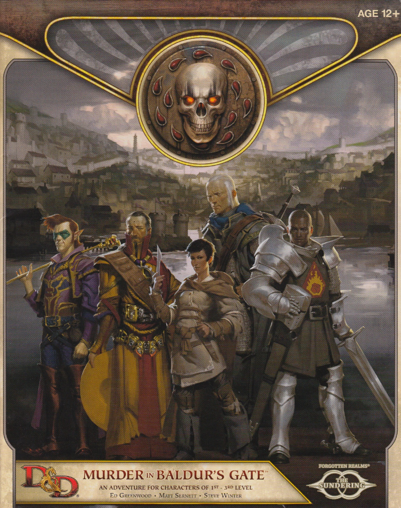 Murder at Baldur's Gate