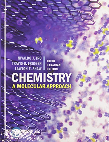 Chemistry: A Molecular Approach, Third Canadian Edition Plus Mastering Chemistry with Pearson eText -- Access Card Package (3rd Edition)