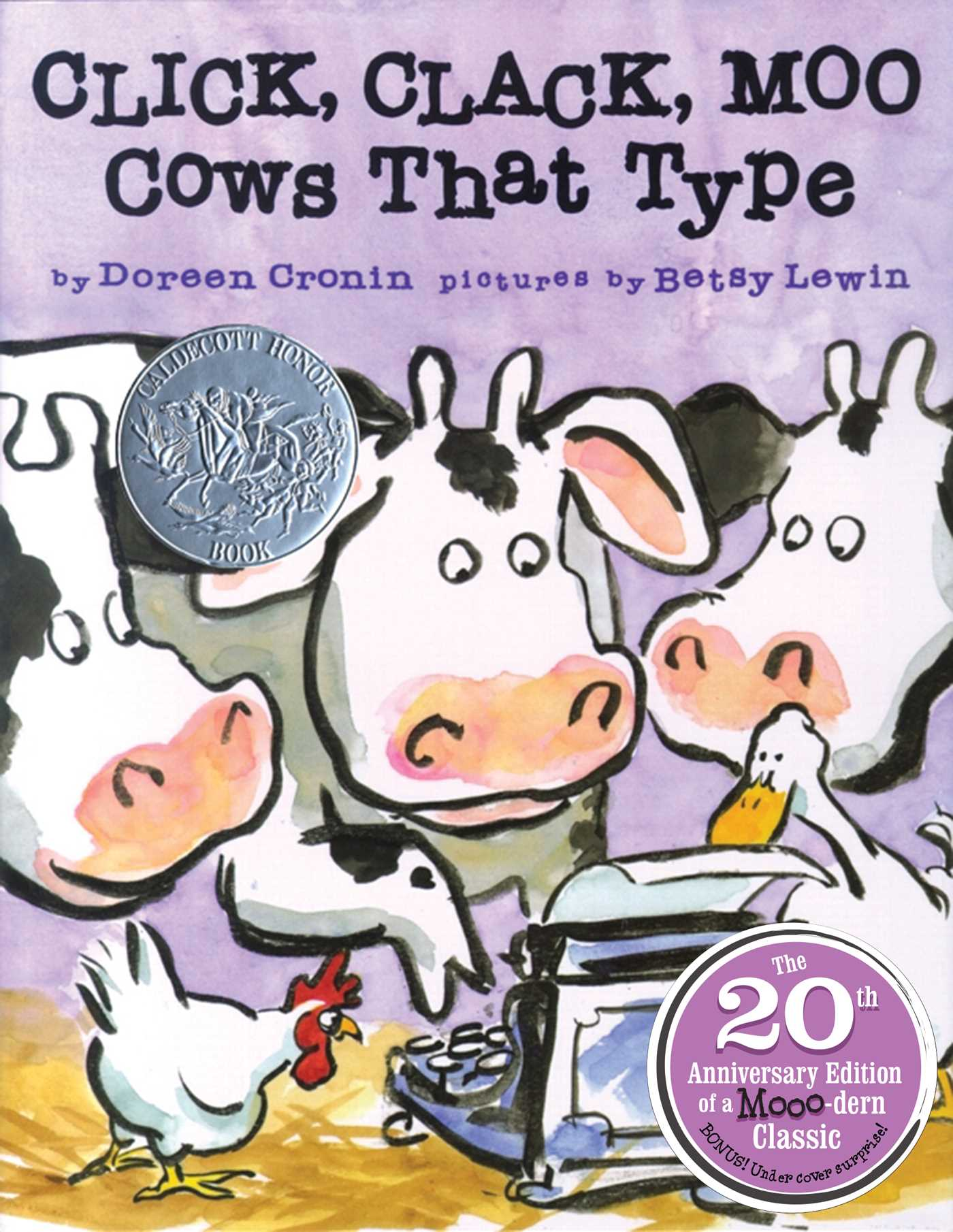 Click, Clack, Moo 20th Anniversary Edition: Cows That Type