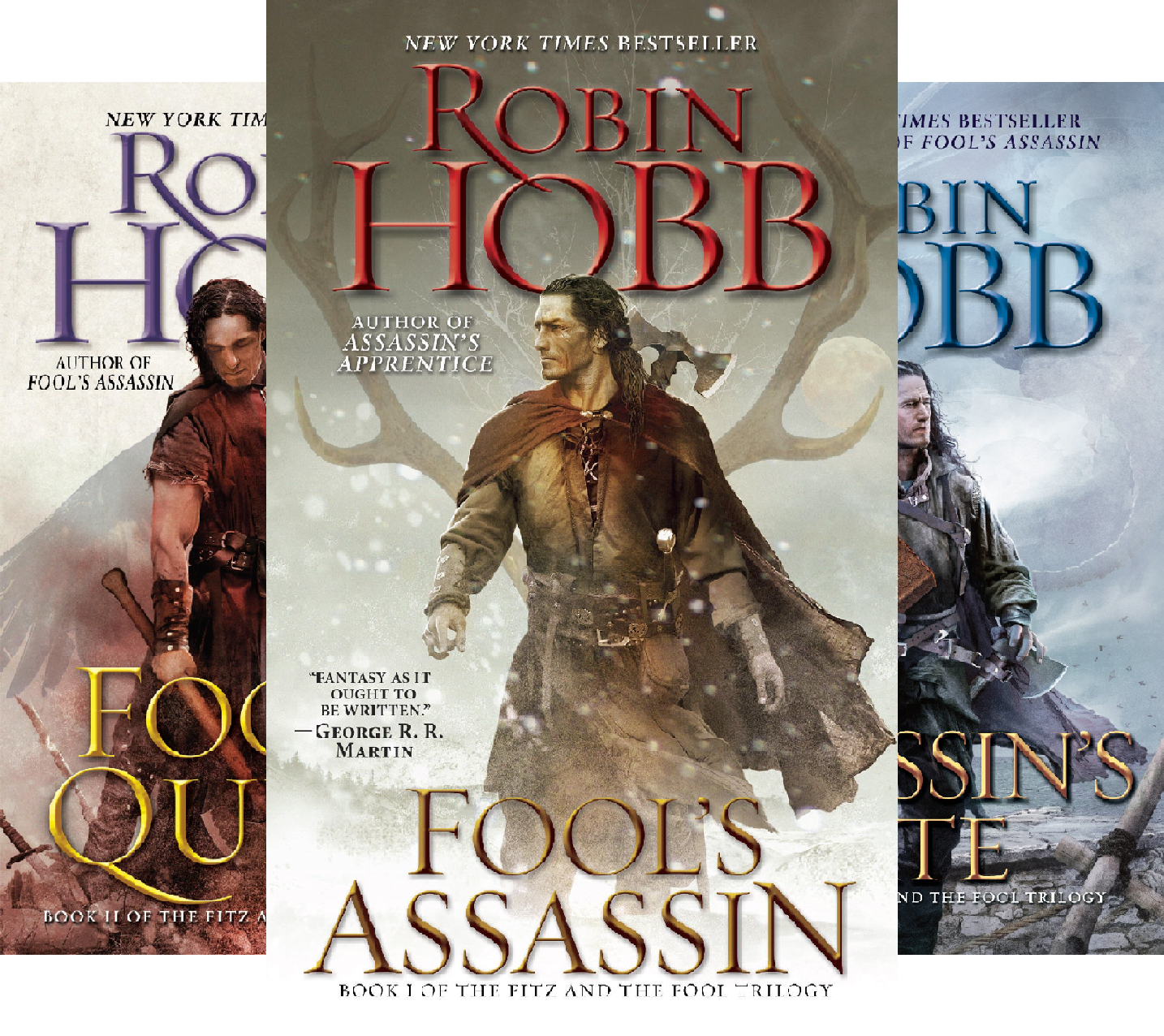 Fitz and the Fool Trilogy (3 Book Series)