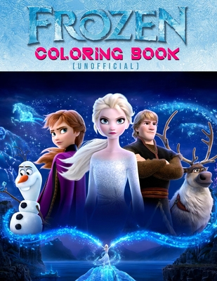 """Frozen Coloring Book (Unofficial): Frozen color and activity books - 25 Pages, Size - 8.5"""" x 11"""""""