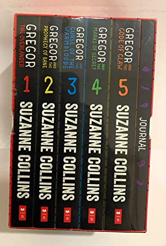 Gregor The Underground Chronicles 6-Pack Boxed Gift Set: Books #1-5 Plus an Exclusive Journal