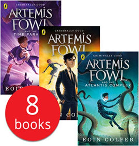 Artemis Fowl Collection 8 Books Set By Eoin Colfer
