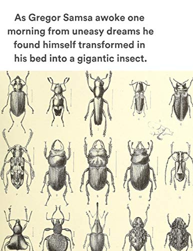 As Gregor Samsa awoke one morning from uneasy dreams he found himself transformed in his bed into a gigantic insect.: The Metamorphosis Scrapbook and Creativity Album