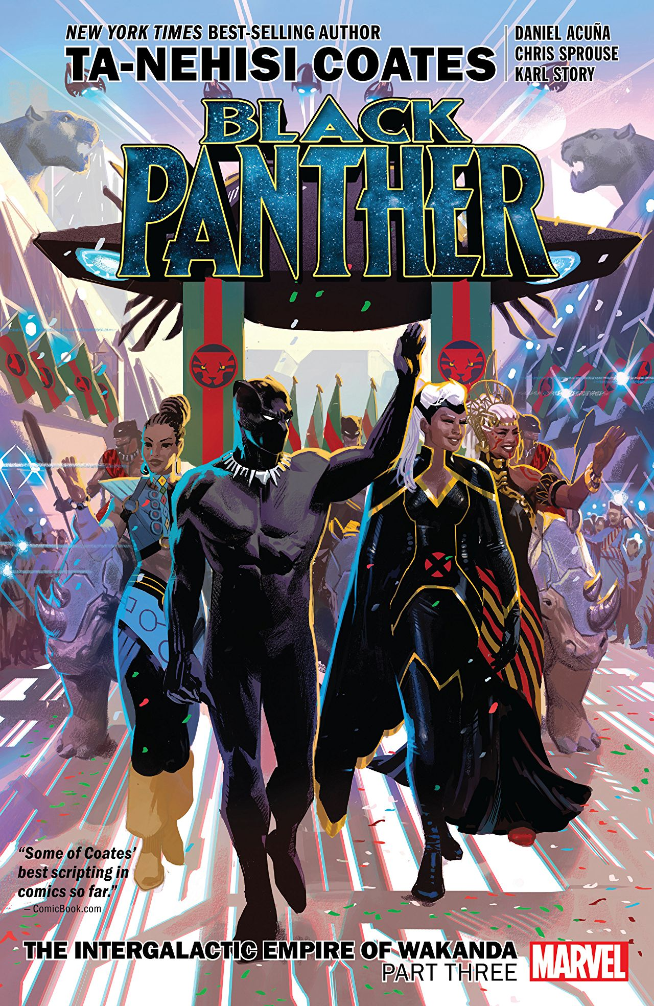 Black Panther, Vol. 8: The Intergalactic Empire of Wakanda, Part Three