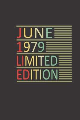 June 1979 Limited Edition: Notebook made for you, your family and friends Personal Planner 24 month 100 page 6 x 9 Dated Calendar Notebook For 2020-2021 Academic, birthday Notebook, Planner, Journal, Diary, Planner,
