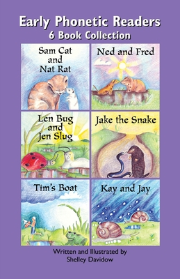 Early Phonetic Readers: 6 Book Collection