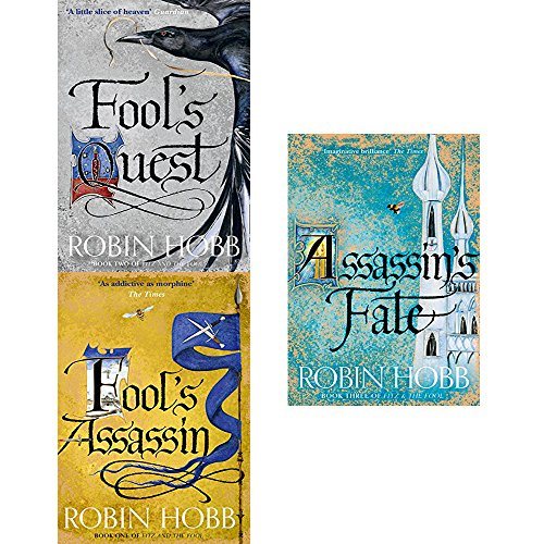 Fitz and the fool series robin hobb 3 books collection set
