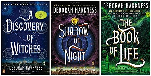 All Souls Trilogy 3 Book set [Hardcover] Deborah Harkness:A Discovery of Witches, Shadow of Night, The Book of Life