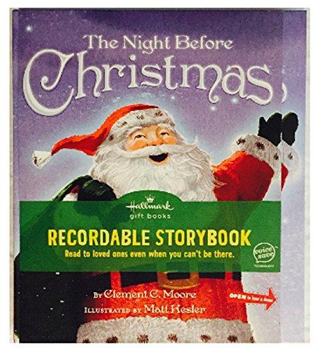 Hallmark The Night Before Christmas Recordable Storybook 2011 KOB1032