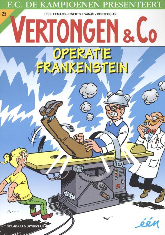 Operatie Frankenstein (Vertongen & Co #25)