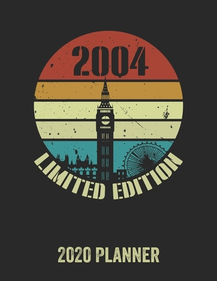 2004 Limited Edition 2020 Planner: Daily Weekly Planner with Monthly quick-view/over view with 2020 Planner