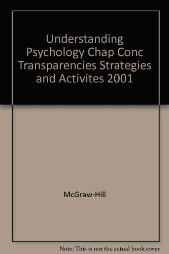 Glencoe Understanding Psychology: Chapter Concept Transparencies- Strategies and Activities