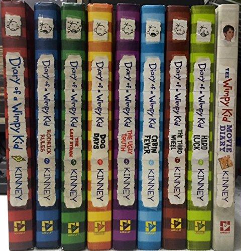 Diary of a Wimpy Kid Slipcase x8 DIY Set
