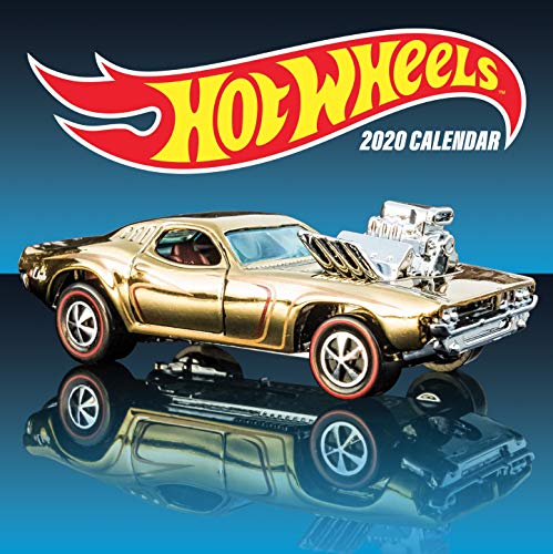 Hot Wheels 2020 Wall Calendar