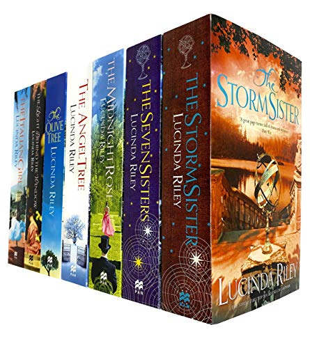 Lucinda Riley The Seven Sisters Series 7 Books Collection Set