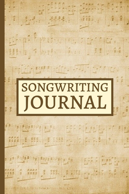 Songwriting Journal: Light Colour Blank Lined And Manuscript Paper Notebook, Gifts For Guitarists, Musicians, Music Lovers, Enthusiasts, Teachers, Women and Men (6 x 9)