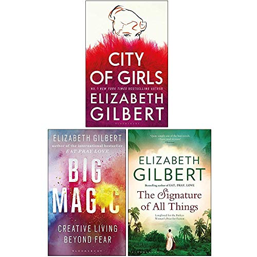 Elizabeth Gilbert Collection 3 Books Set