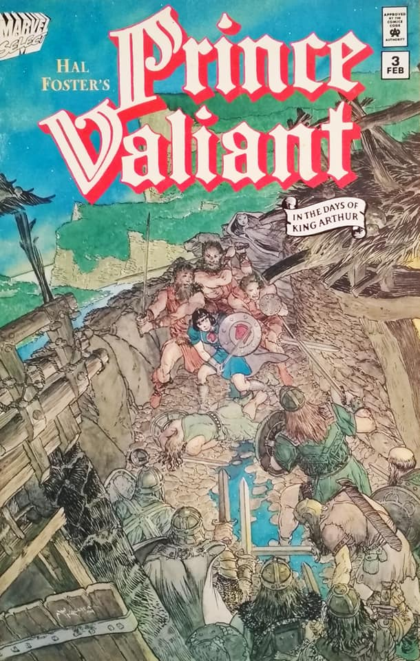 PRINCE VALIANT, The iIl-made King (Book 3)