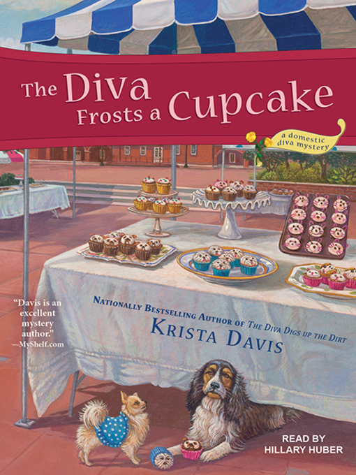 The Diva Frosts a Cupcake (A Domestic Diva Mystery, #7) (Audiobook)