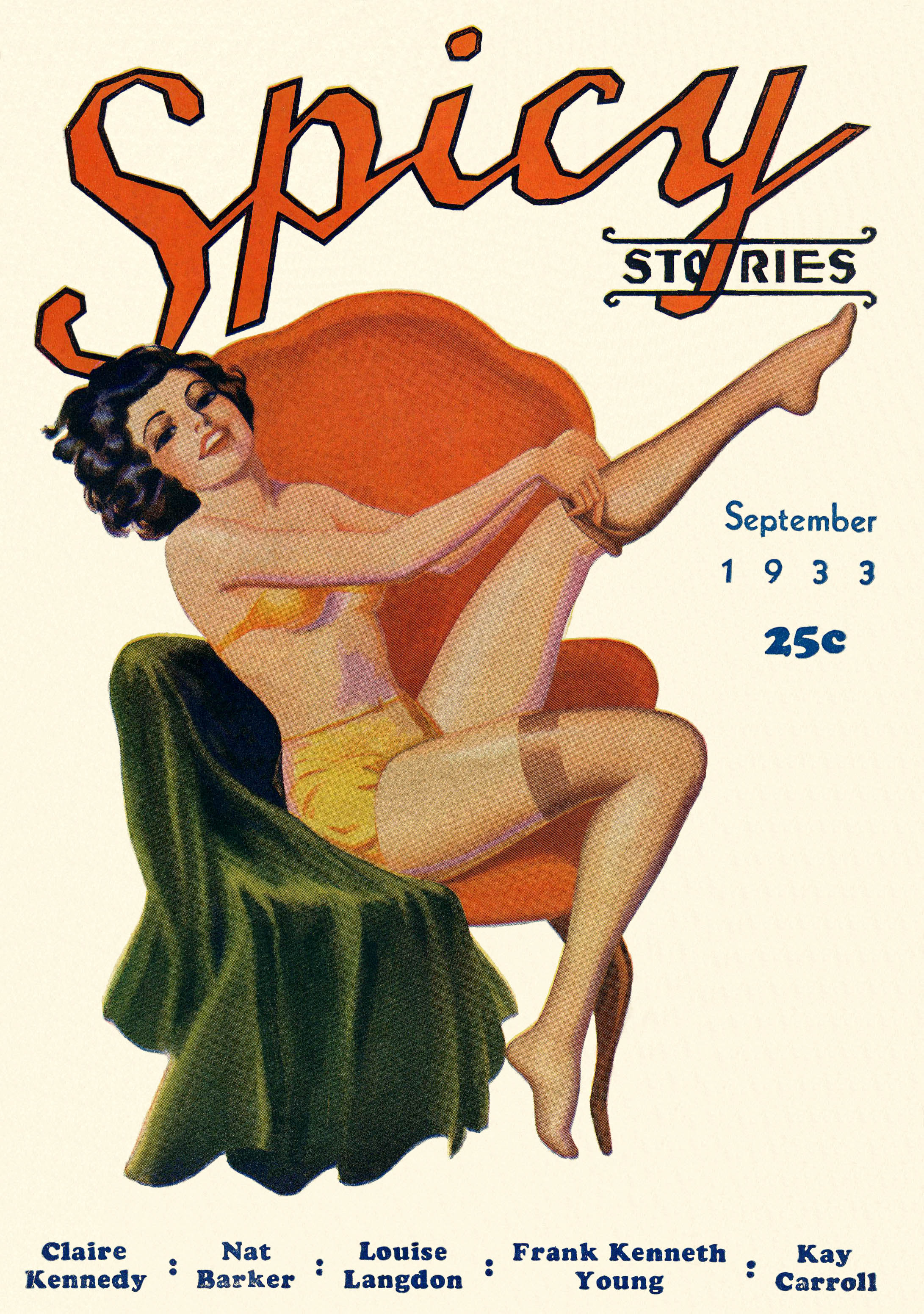 Spicy Stories, September 1933