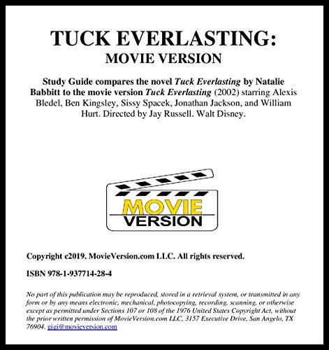 Tuck Everlasting: Movie Version