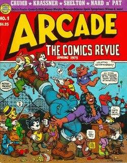ARCADE The Comics Revue