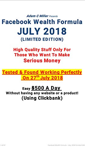 Facebook wealth formula