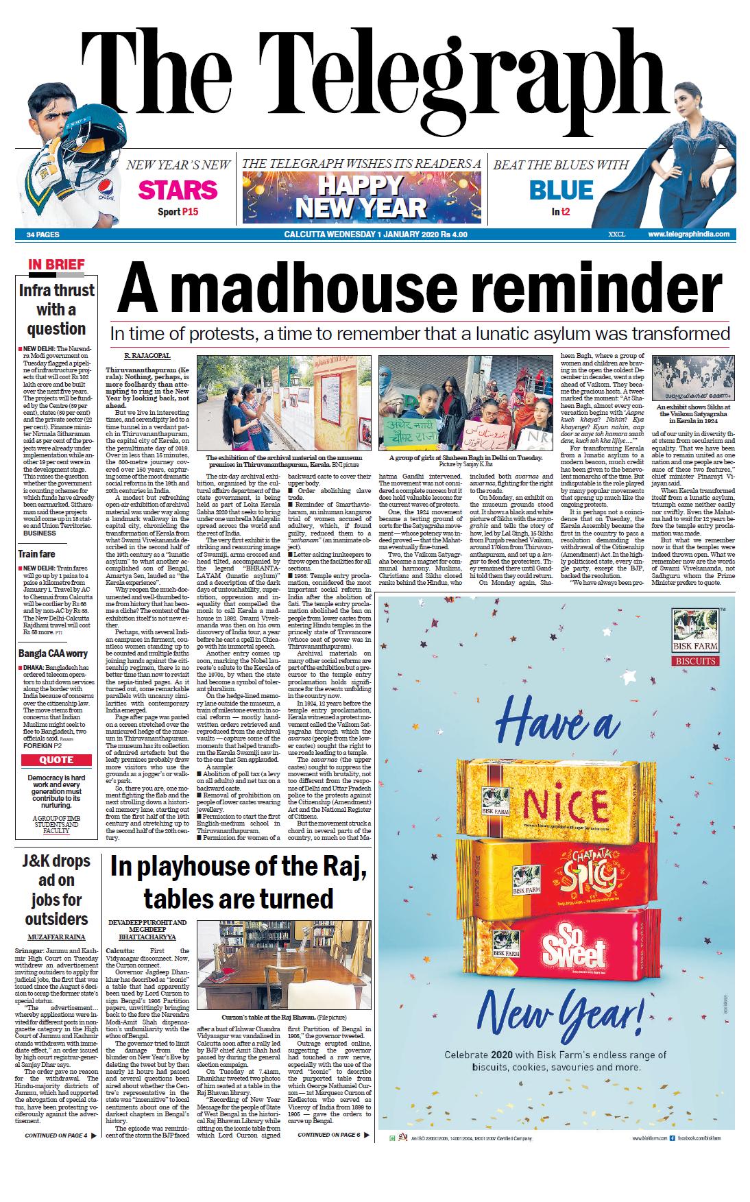 The Telegraph (Kolkata) (vol. xxxix)