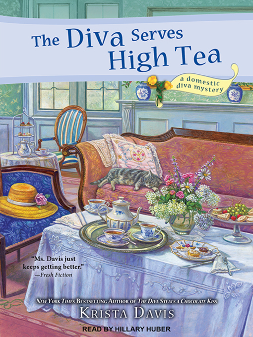 The Diva Serves High Tea (A Domestic Diva Mystery, #10) (Audiobook)
