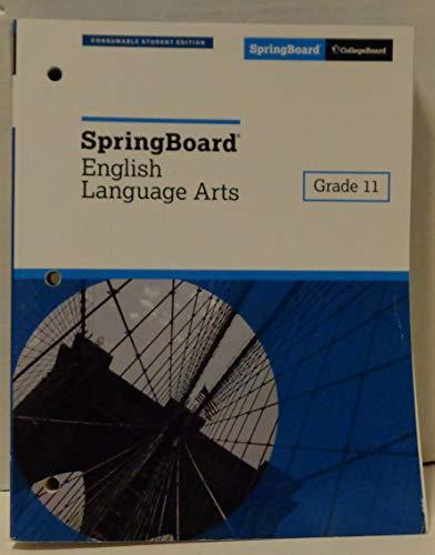 Springboard English Language Arts Grade 11 (2018 Consummable Student Edition)