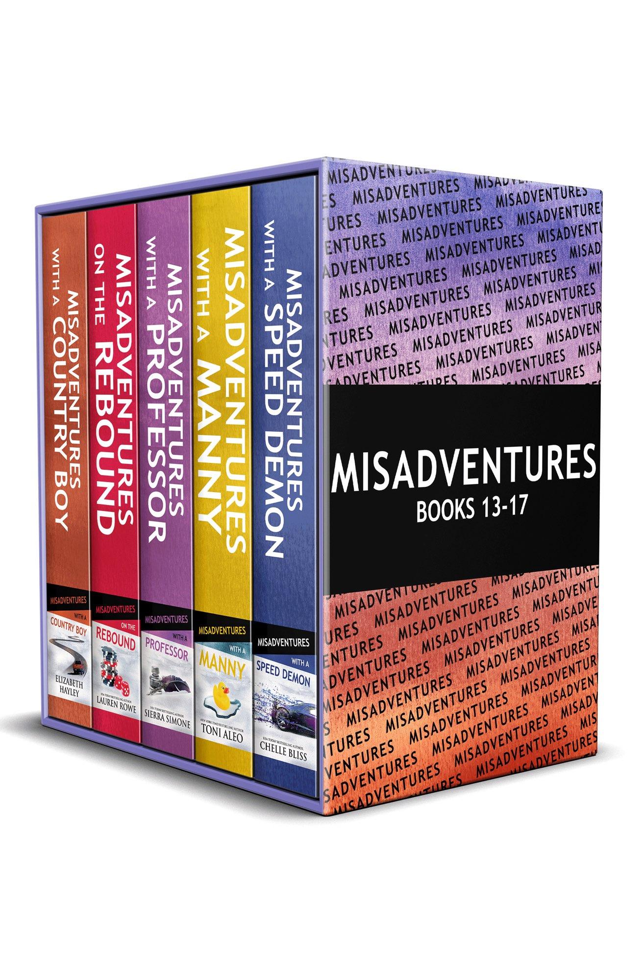Misadventures Series Anthology Misadventures Series, Books 13-17
