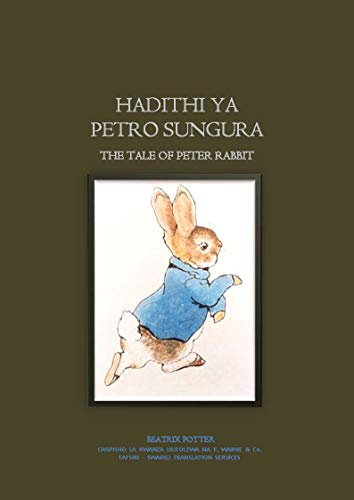 Hadithi ya Petro Sungura: The Tale of Peter Rabbit