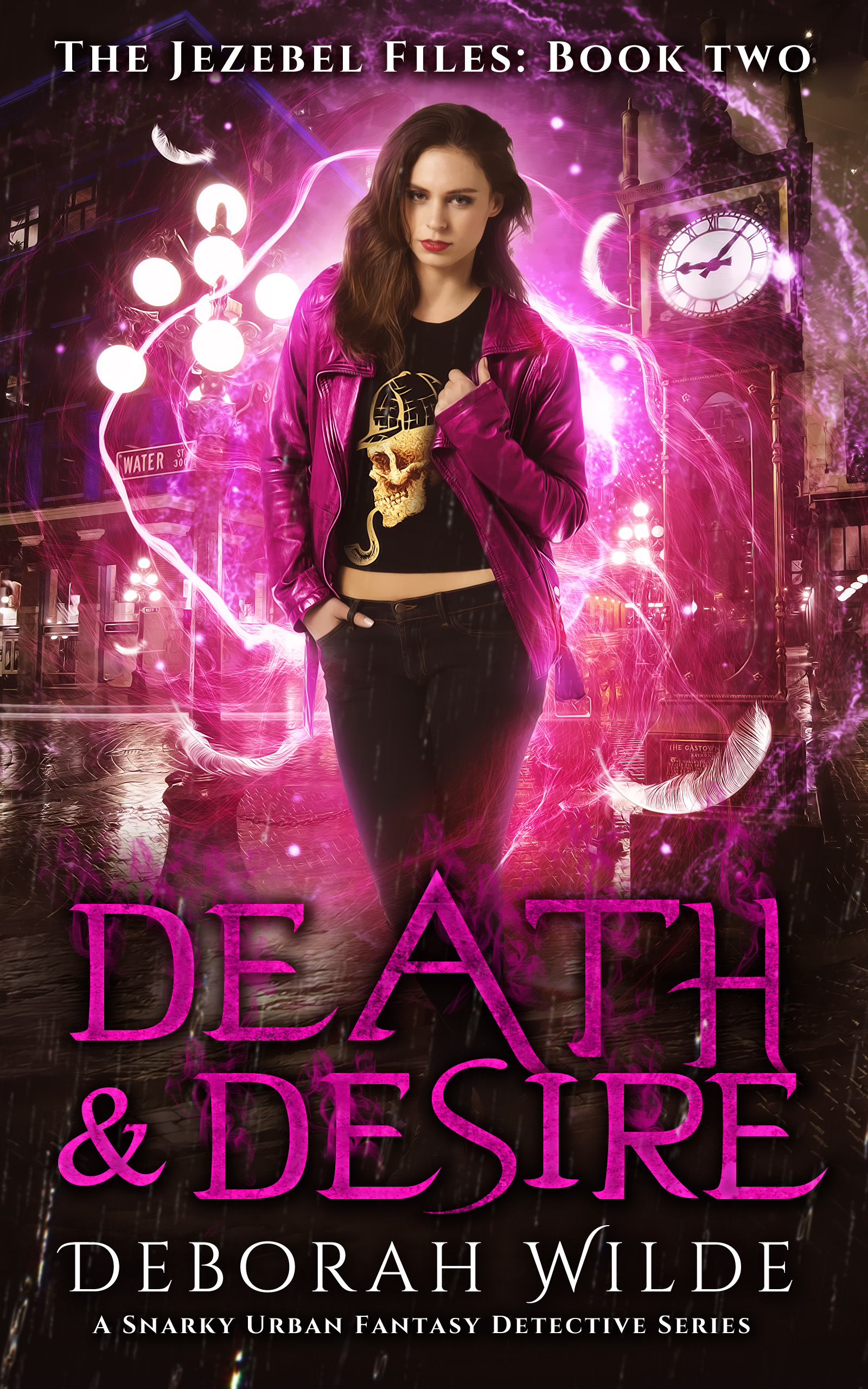 Death & Desire (The Jezebel Files, #2)