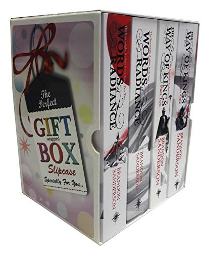 Brandon sanderson stormlight archive collection 4 books collection gift wrapped box set
