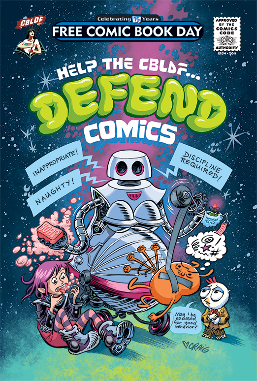 Help the CBLDF Defend Comics 2016