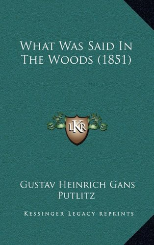 What Was Said In The Woods (1851)