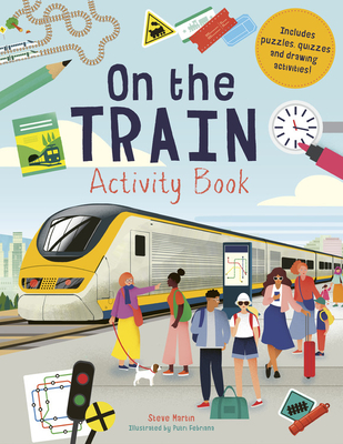 On the Train Activity Book