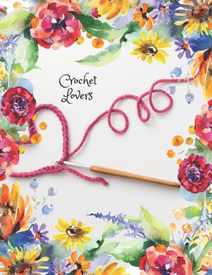 Crochet Lovers: Back to Front College Lined Notebook 130 Page Journal/Notebook. Start as you would as with any notebook and then just turn your book over and start again! Save paper by reversing your notebook. Ideal gift for family and friends.