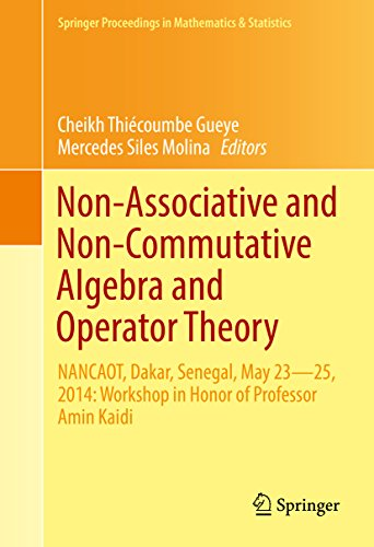 Non-Associative and Non-Commutative Algebra and Operator Theory: NANCAOT, Dakar, Senegal, May 23–25, 2014: Workshop in Honor of Professor Amin Kaidi (Springer ... in Mathematics & Statistics Book 160)