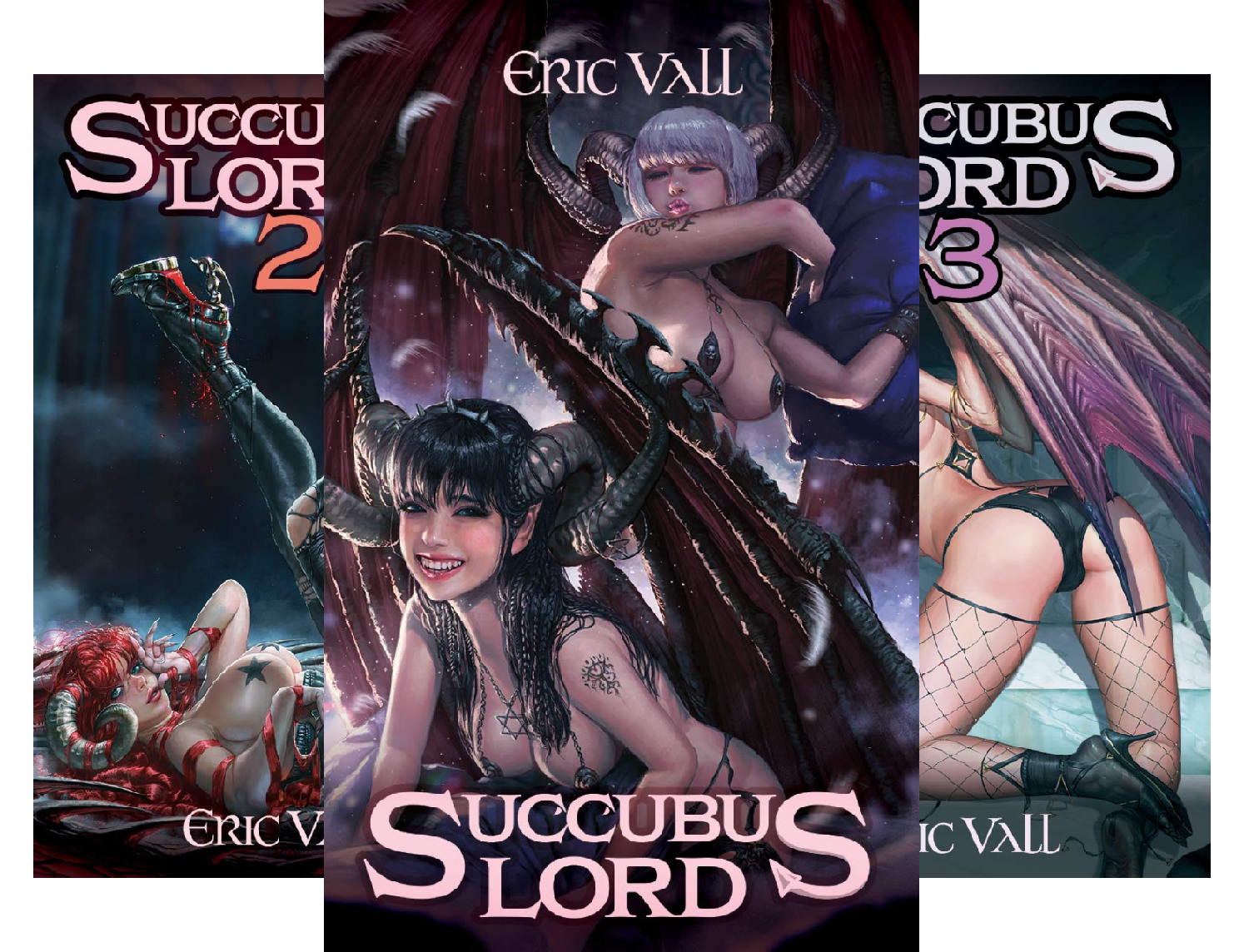 Succubus Lord (12 Book Series)