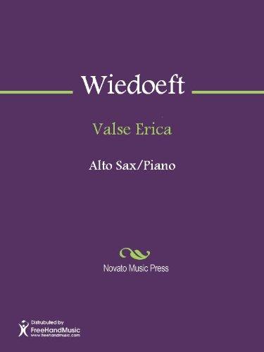 Valse Erica - Piano Score