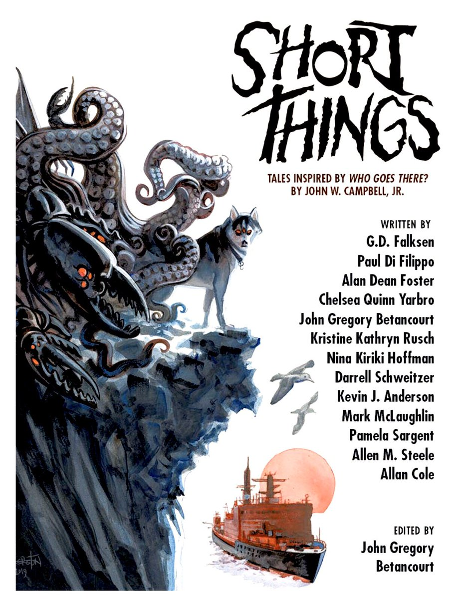"Short Things: Tales Inspired by ""Who Goes There?"" by John W. Campbell, Jr."
