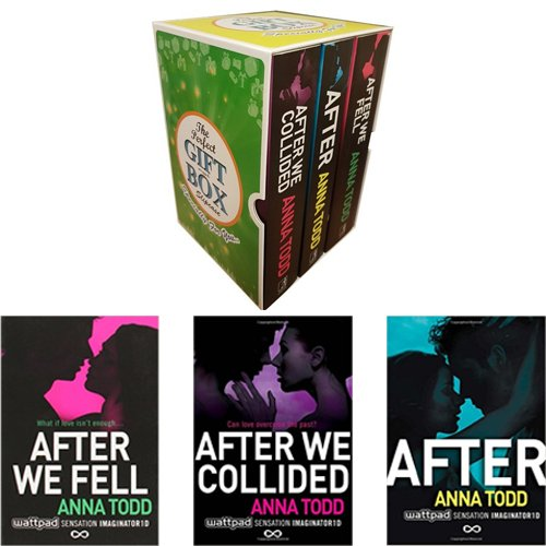 After Series Anna Todd Collection 3 Books Bundle Gift Wrapped Slipcase Specially For You